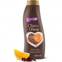 Luksja płyn do kąpieli 1L Czekolada i Pomarańcza