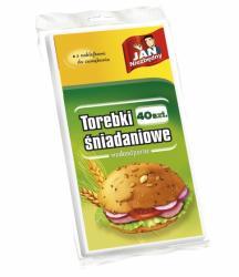 Jan Niezbędny torebki śniadaniowe papier. 40szt