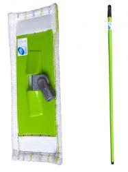Cluo mop płaski komplet (kij, stelaż, nakładka)