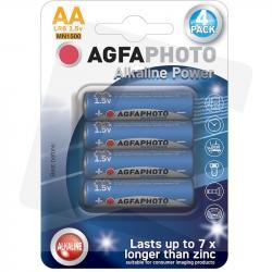 Agfa baterie alkaliczne paluszki AA LR6 1,5V 4 szt.