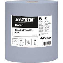 Katrin Basic 445569 czyściwo niebieskie 1-warstwowe 360 metrów 2 sztuki