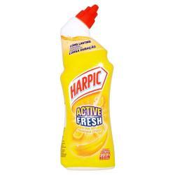 Harpic Active Fresh 750ml citrus - żel do toalet