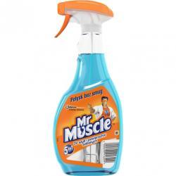 Mr Muscle płyn do szyb w sprayu 500ml niebieski