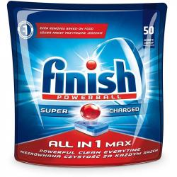 Finish All In 1 tabletki do zmywarek 50 sztuk