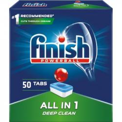 Finish All In 1 tabletki do zmywarek 50 sztuk Deep Clean