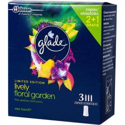 Glade by Brise mini spray wkład 2+1 Lively Floral Garden