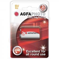 Agfa bateria 6F22 9V kostka cynkowa