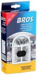 Bros moskitiera siatka na okno 130x150cm grafit