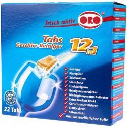 Oro tabletki do zmywarek 22 sztuki bez fosforanów