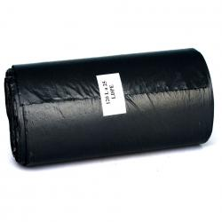 Ekosell worki LDPE 120l 25 szt. czarne