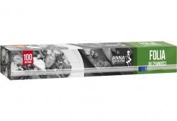 Anna Zaradna folia do żywności 100m Box z ucinarką