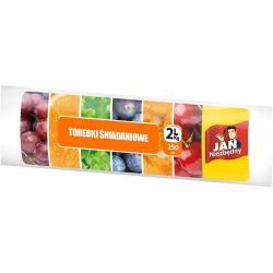Jan Niezbędny woreczki śniadaniowe 2L 250 sztuk