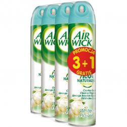 Air Wick aerozol Białe Kwiaty odświeżacz powietrza 240ml 3+1