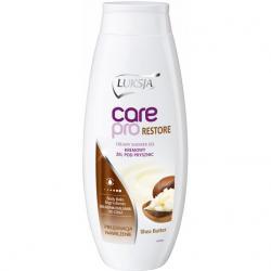 Luksja Care Pro żel pod prysznic z masłem shea 500ml