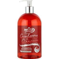 Astonish Antybakteryjne mydło żurawina i cynamon 500 ml