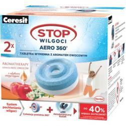 Ceresit Aero 360 pochłaniacz wilgoci tabletki owocowe - wkład