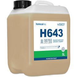 Voigt Horecaline H643 usuwanie spieczonych zabrudzeń i przypaleń 5L