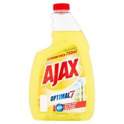 Ajax płyn do szyb 750ml cytryna zapas