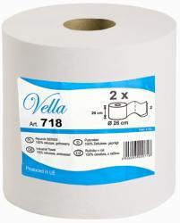 Vella czyściwo białe celuloza 2-warstwowe 220 metrów 2 sztuki