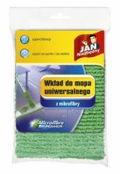 Jan Niezbędny mop płaski końcówka wymienna zielona mikrofibra