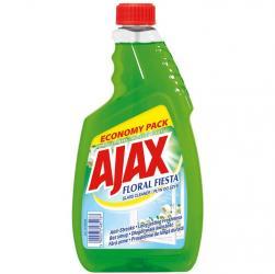 Ajax płyn do szyb 750ml kwiatowy zapas