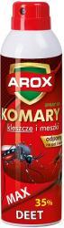 Arox preparat w sprayu na komary i kleszcze MAX 250ml
