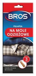 Bros pułapka do szaf na mole odzieżowe