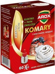 Arox urządzenie elektryczne + płyn na komary 60 nocy