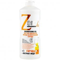 Zero Żelowy płyn do mycia naczyń z gorczycą 500ml