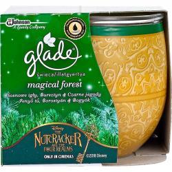 Glade by Brise świeca zapachowa w szkle 120g Magical Forest