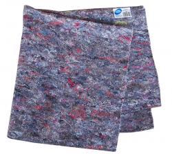 Cluo ścierka podłogowa szara bawełna 63x68cm