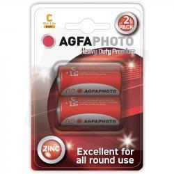 Agfa baterie C R14 cynkowe 1,5V 2 sztuki