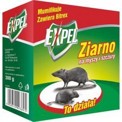 Expel trutka na myszy i szczury 300g – ziarno