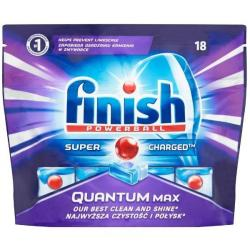 Finish tabletki do zmywarki QUANTUM MAX REGULAR 18szt.