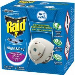 Raid electric na komary urządzenie elektryczne + zapas NIGHT&DAY