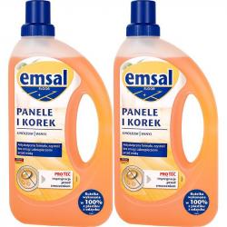Emsal DUO środek do paneli i korka 2x750ml