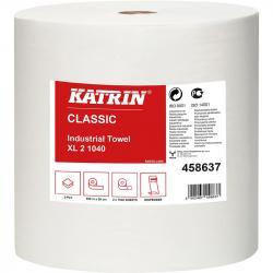 Katrin Classic XL 458637 czyściwo białe 2-warstwowe 260 metrów 2 sztuki