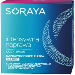 -25% Soraya Intensywna naprawa krem maska naprawczy na noc 50ml
