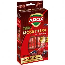 Arox moskitiera na owady 150 x 180 cm czarna