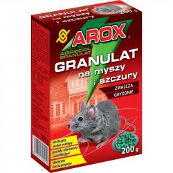 Arox granulowany preparat na myszy i szczury 200g