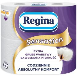 Regina papier toaletowy trzywarstwowy Sensation 4szt.