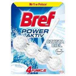 Bref Power Activ kulki do toalet Czysta Biel 50g