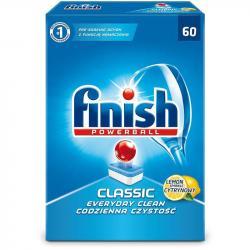 Finish Classic kapsułki do zmywarek 60 sztuk Lemon