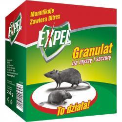 Expel granulki na myszy i szczury 250g