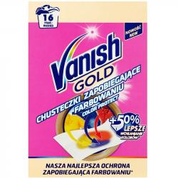 Vanish chusteczki przeciw farbowaniu 16 sztuk