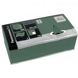 Fasana Professional serwetki zielone 2-warstwowe 250szt 98379