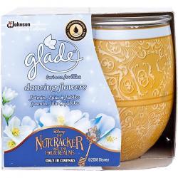 Glade by Brise świeca zapachowa w szkle 120g Dancing Flowers