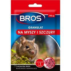 Bros trutka granulat na myszy i szczury 90g mumifikujący