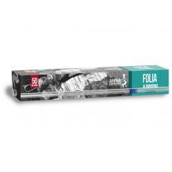 Anna Zaradna folia aluminiowa 50m kartonik z ucinarką