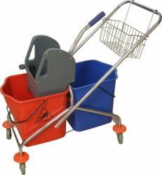 Wózek do sprzątania 2 x 25 litrów